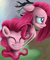 Two sides of Pinkie by SakuraWolfer