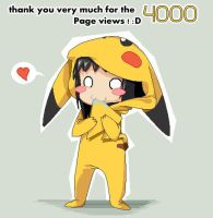 Thank chu for 4000 X3 by OpaliChan