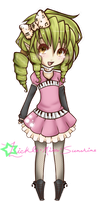 .: Chibi Midori :. by Nocturnally-Blessed