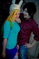 Fionna + Marshall Lee by Madoka-swan