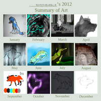 Summary of Art 2012 by Rhymeable