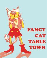 Fancy Cat by alphabet-takeout