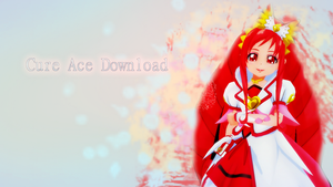 MMD Cure Ace DOWNLOAD by xxSnowCherryxx