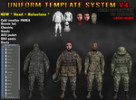 Uniform Template System V4 - PS by Harbard1