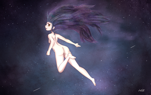 Floating Star by Luycaslima