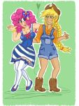 OH APPLEJACK YOURE SO... PARTY by alicechickenmaster