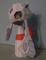 Froslass Papercraft 2 by Xantaria