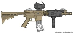 MoH M4A1 CQBR by Kweonza