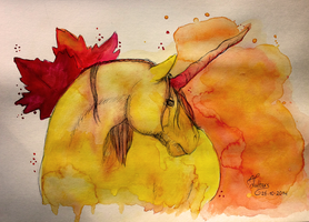 The beauty of Autumn by BlueLittleTree