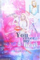 You cover my heart !! by PonBaby