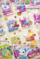 kyaaa.biz Happy Bag Charms by shiricki