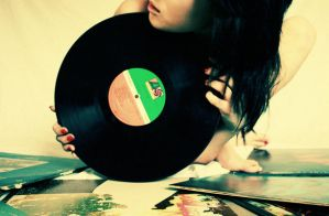 Daddy's Records III by sharonie