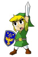 Link Chibi by bluepen731