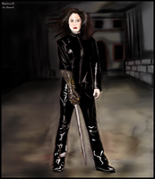 witchblade Yancy Butler by andre-ma