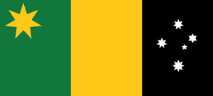 Australian Tricolour by Rory-The-Lion