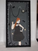 Gothic Lolita Canvas by Luna-Rox