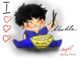 I LOVE NOODLE by RoMaCeKiD
