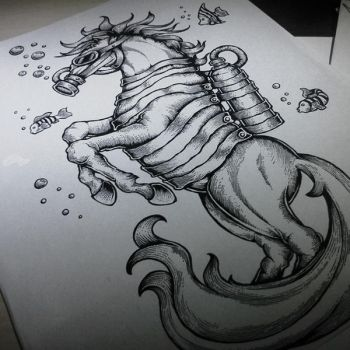 Sea Horse by seventharmy
