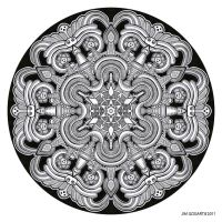 Mandala drawing 31 by Mandala-Jim