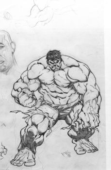 THE HULK by bobbett
