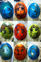Easter Eggs! by SeafoamGlassMermaid