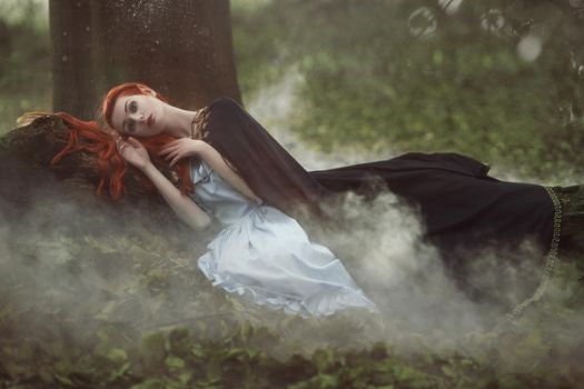 Slept so long without you .... by Voodica