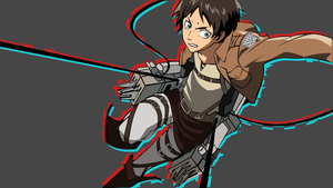 Eren Jaeger Wallpaper by Browniehooves