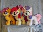 We Are The Cutie Mark Crusaders by WhiteDove-Creations