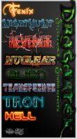 Text style effects 2 by ALart90
