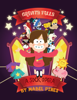 Mabel's sock opera poster by majumi