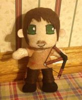 Daryl Dixon~ The Walking Dead Plushie by TheDoorWithin