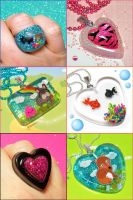 Super Fantastic Resin Jewelry by bapity88