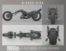 Mirage Bike Turnaround by badzter09
