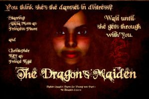 The Dragon's Maiden Poster by Poetadoubleyou