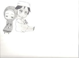 Hetalia Syria and Lebanon Chibi by MiddleEastAPH