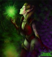 Fel Magic (final version) by Crimsella