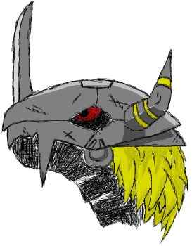 BlackWarGreymon paint tribute by Colmillos