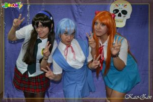 Evangelion cosplay: Smile! by ROYAL1105