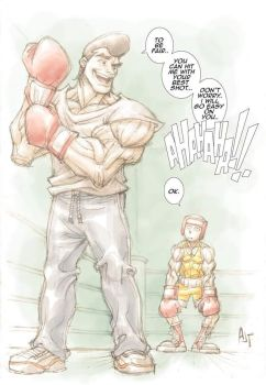 takamura's last sparring session by AnthonyTAN7775