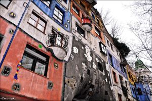 Hundertwasserhaus II by Esse-light
