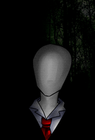 Slender man is waiting for you by LostChange