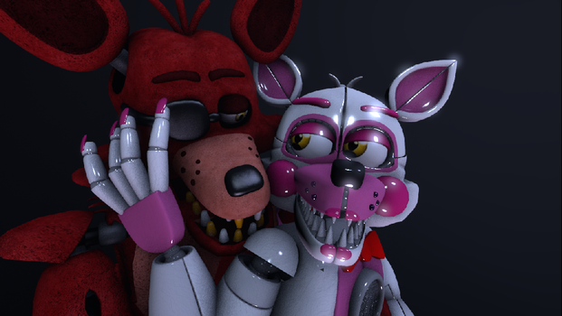 Foxy x Funtime Foxy by chicafreddy32