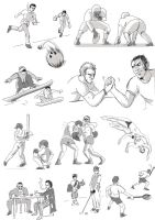 Sporting Activities 2 by Fergtron