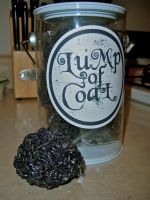 Lump of Coal rice krispie treats by KimNichole