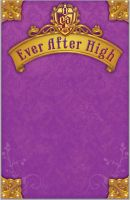 Ever After High Book Cover by LadyMandiga