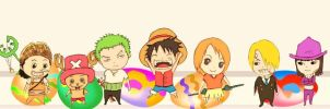 One Piece Chibi by six2five