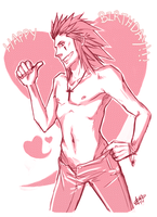 KH- Axel b-day Pres by Moonlight-Mage-Shiro