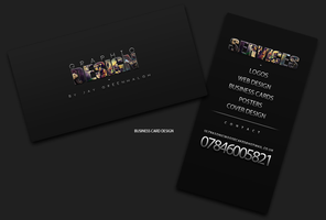 Business Card Design One by JaysusAlmighty