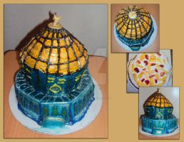 Dome Of The Rock Cake by ToughSpirit