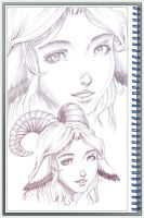 Sketch Book Exercise 16 by StriderDen